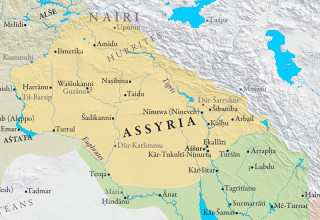 assyria-map-arround-1000bc