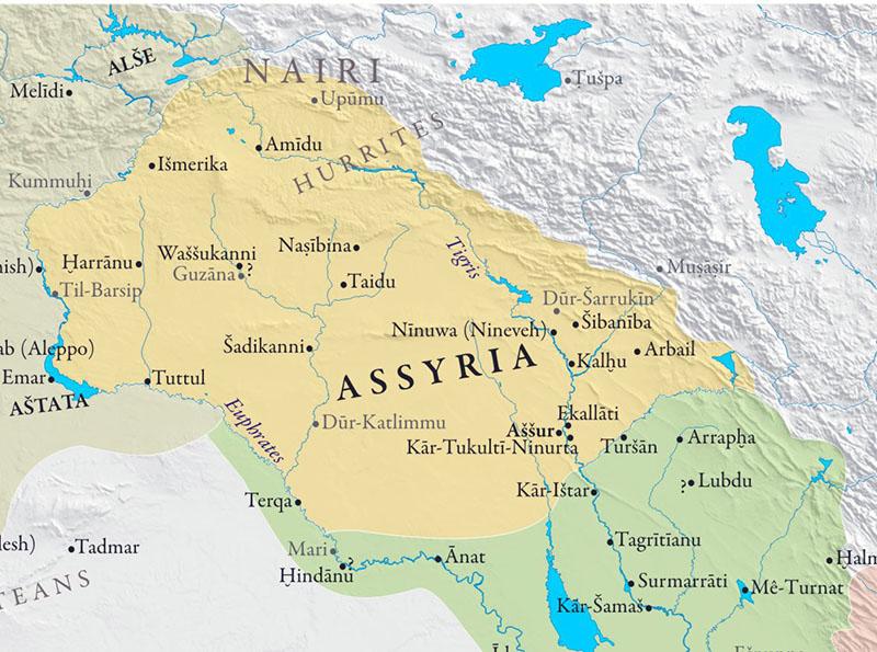 assyria-map-arround-1000bc